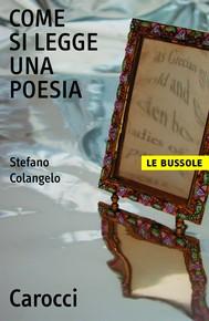 Come si legge una poesia - copertina