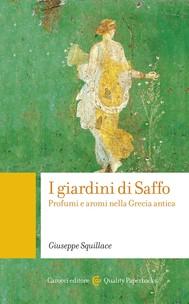 I giardini di Saffo - copertina