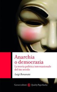 Anarchia o democrazia - copertina