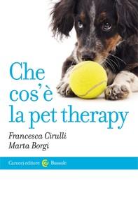 Che cos'è la pet therapy - Librerie.coop
