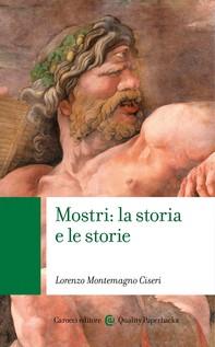 Mostri: la storia e le storie - Librerie.coop