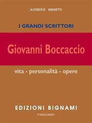 I grandi scrittori - Giovanni Boccaccio - copertina
