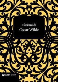 Aforismi di Oscar Wilde - copertina