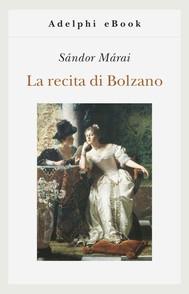 La recita di Bolzano - copertina