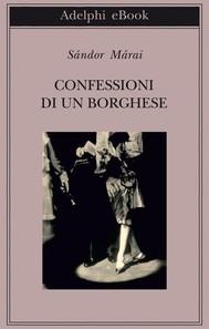 Confessioni di un borghese - copertina