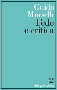 Fede e critica - copertina