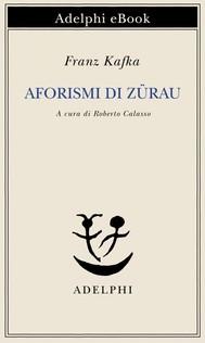 Aforismi di Zürau - copertina