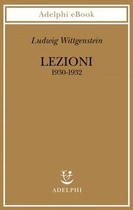 Lezioni 1930-1932 - copertina