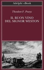 Il buon vino del signor Weston - copertina