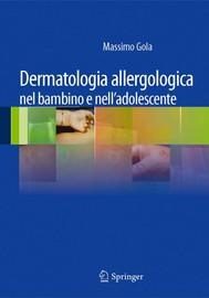 Dermatologia allergologica nel bambino e nell'adolescente - copertina