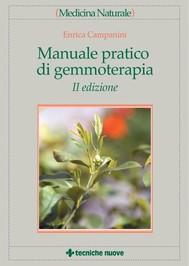 Manuale pratico di gemmoterapia - copertina