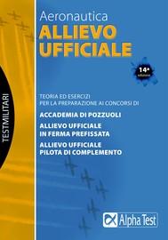 Allievo Ufficiale - Aeronautica - copertina
