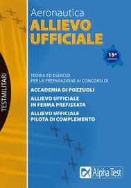 Aeronautica: Allievo Ufficiale - copertina