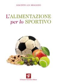 L'alimentazione per lo sportivo - copertina