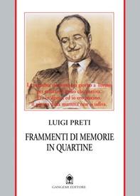 Frammenti di memorie in quartine - Librerie.coop