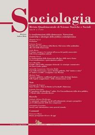 Sociologia n.3/2018 - Librerie.coop