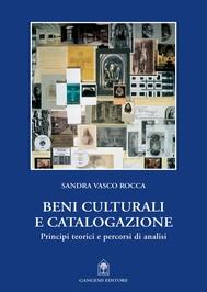 Beni culturali e catalogazione - copertina