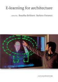 E-learning for architecture - copertina