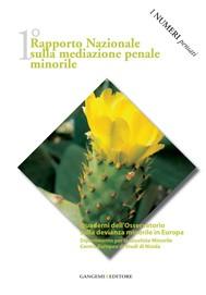 1° Rapporto nazionale sulla mediazione penale minorile - copertina