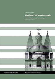 Architettura e stereotomia - copertina
