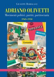 Adriano Olivetti - copertina