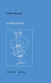 A mezza voce - Librerie.coop