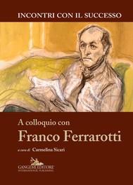A colloquio con Franco Ferrarotti - copertina