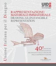 Rappresentazione materiale/immateriale - Drawing as (in) tangible - copertina
