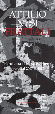 Attilio Nesi. Frattali - copertina