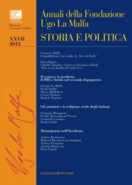 Annali della Fondazione Ugo La Malfa XXVII - 2012 - copertina