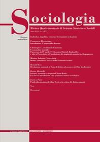 Sociologia n. 1/2013 - Librerie.coop