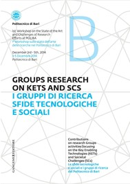 I gruppi di ricerca sfide tecnologiche e sociali - Groups Research on kets and SCS - copertina