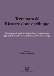Terremoto 80. Ricostruzione e sviluppo - copertina