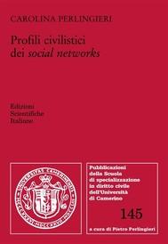 Profili civilistici dei social networks - copertina