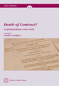 Death of Contract? - copertina