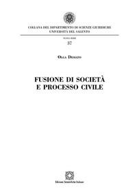 Fusione di società e processo civile - Librerie.coop