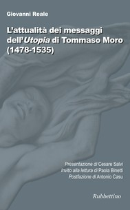 L'attualità dei messaggi dell'Utopia di Tommaso Moro - copertina