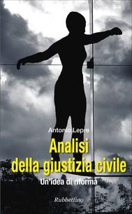 Analisi della giustizia civile - copertina
