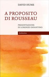 A proposito di Rousseau - copertina