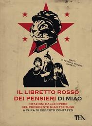Il libretto rosso dei pensieri di Miao - copertina