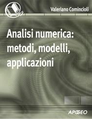 Analisi numerica: metodi, modelli, applicazioni - copertina