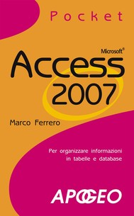 Access 2007 Pocket - copertina
