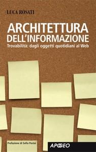 Architettura dell'informazione - copertina