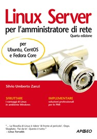 Linux Server per l'amministratore di rete - copertina