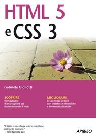 HTML5 e CSS3 - copertina