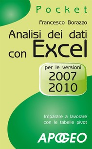 Analisi dei dati con Excel - copertina