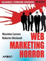 Web marketing horror - copertina
