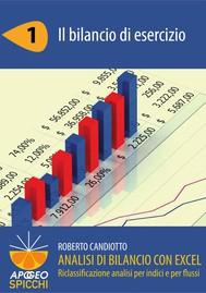 Analisi di bilancio con Excel 1 Il bilancio di esercizio (PDF - Spicchi) - copertina