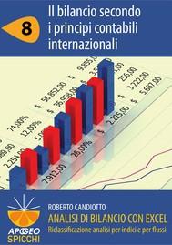 Analisi di bilancio con Excel 8 Il bilancio secondo i principi contabili internazionali (PDF - Spicchi) - copertina