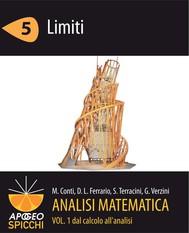 Analisi matematica I.5 Limiti (PDF - Spicchi) - copertina